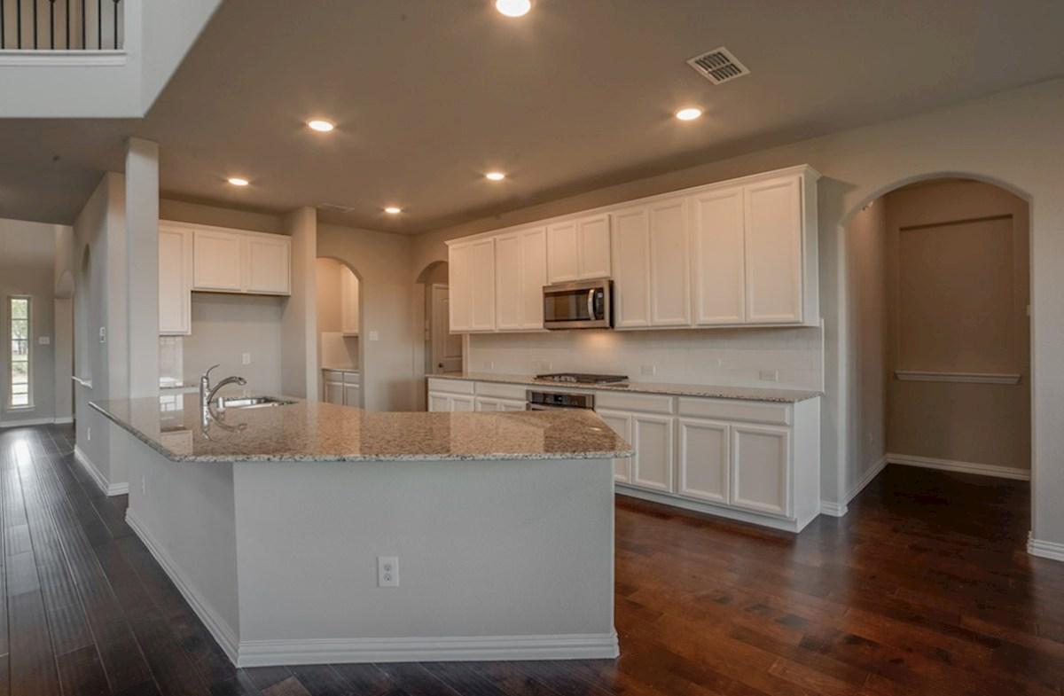 Gruene quick move-in Gruene kitchen includes granite countertops