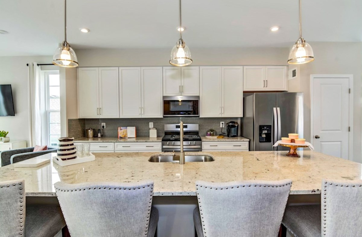 Enclave at Long Branch Alexander functional kitchen