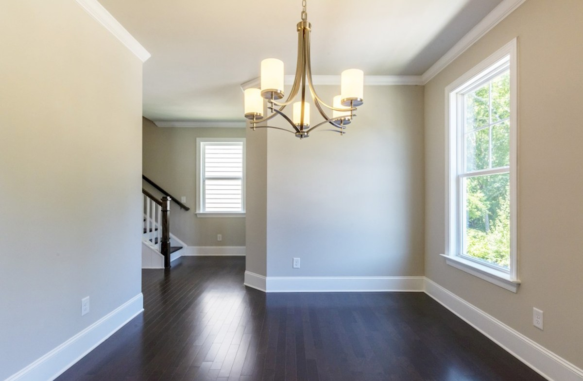 Langley quick move-in Dining Room with hardwood floors