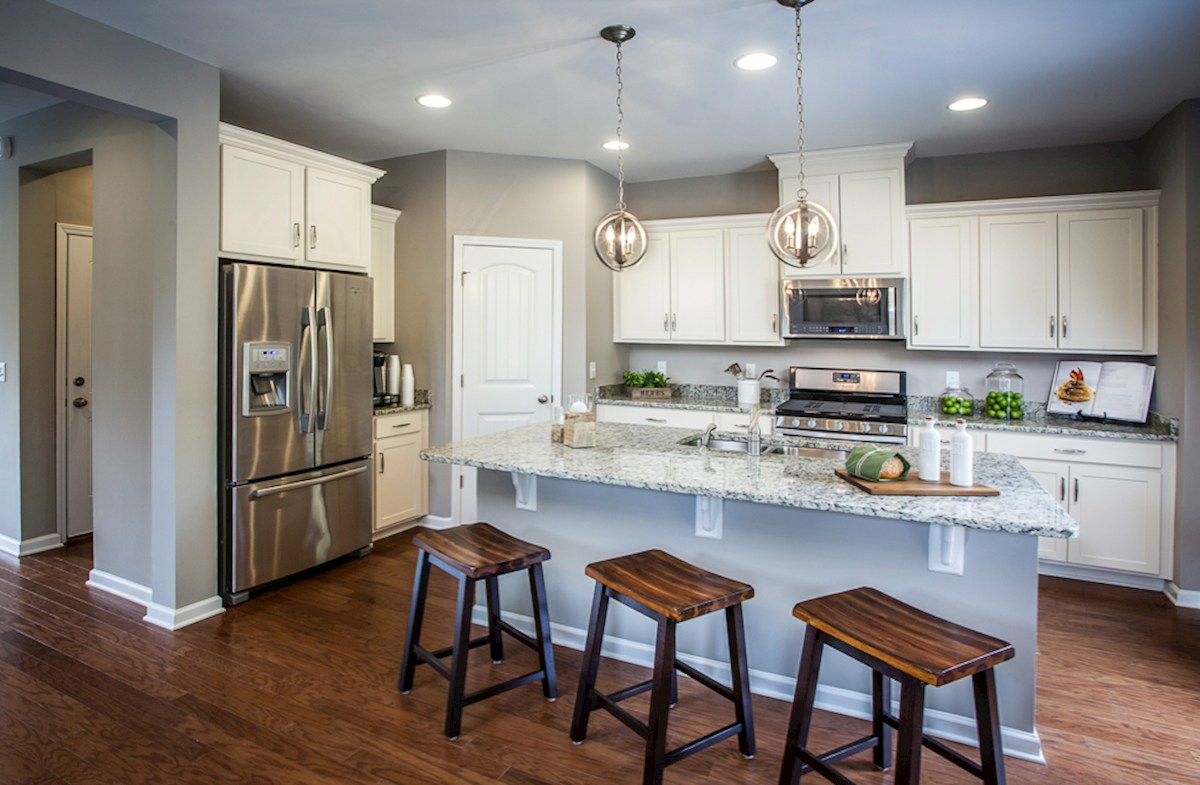Spring Creek Laurel modern kitchen with granite countertops