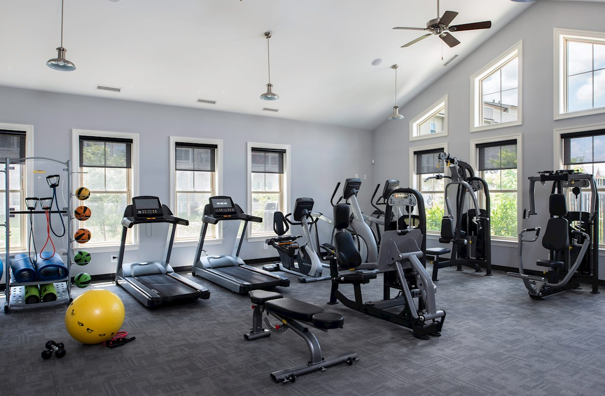 Fitness Center with topnotch equipment