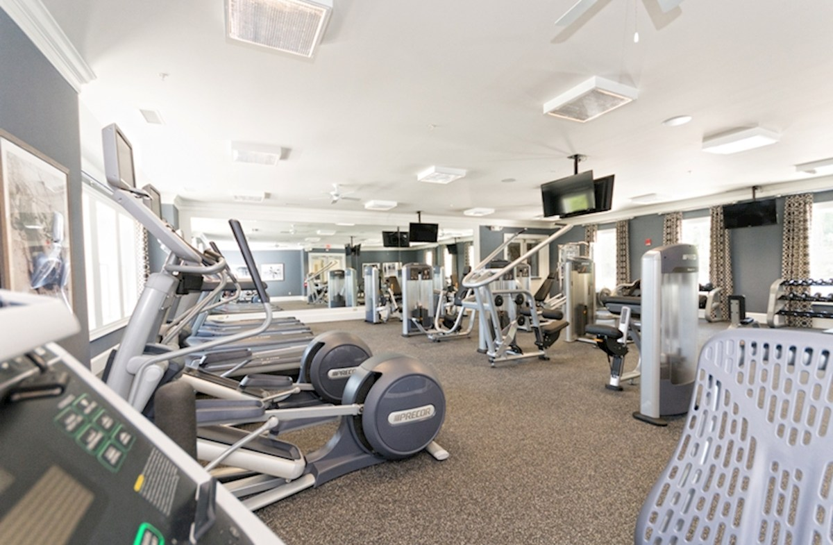 Fitness Center in the Community Clubhouse
