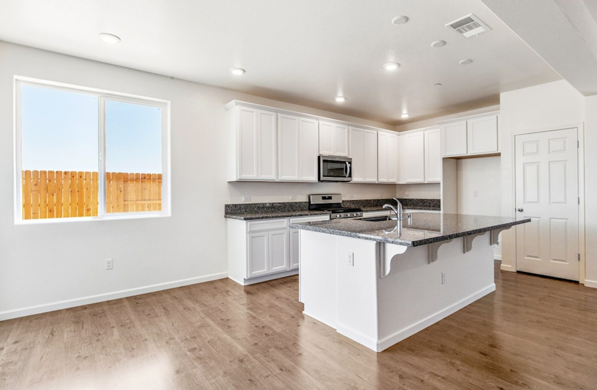 Residence 1 quick move-in kitchen