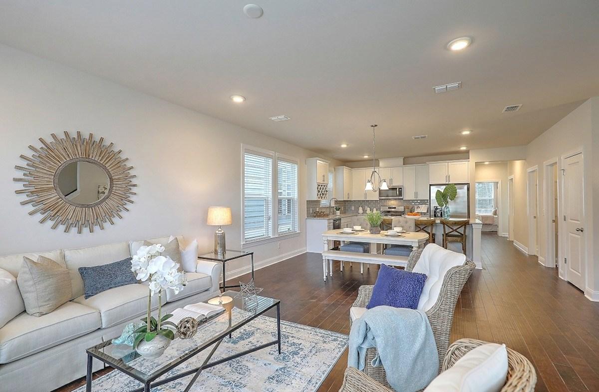 Drayton quick move-in open-concept floorplan