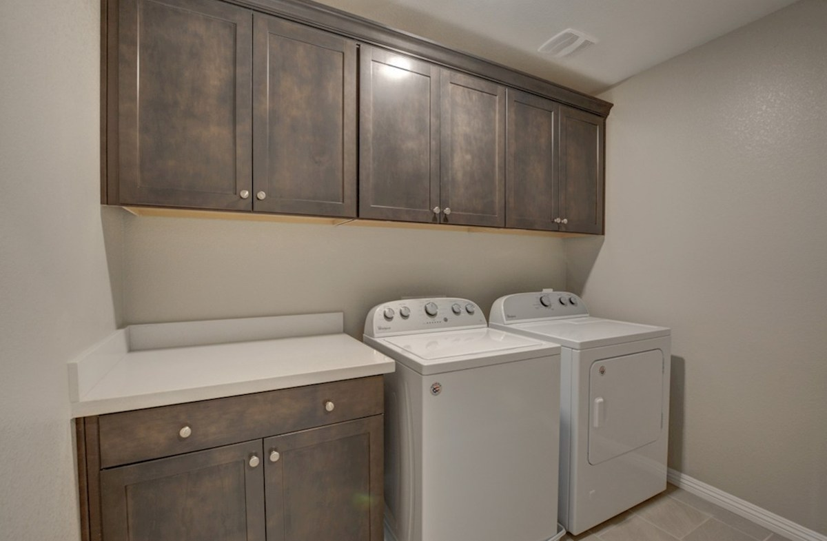 Cactus Ridge Celeste convenient laundry room