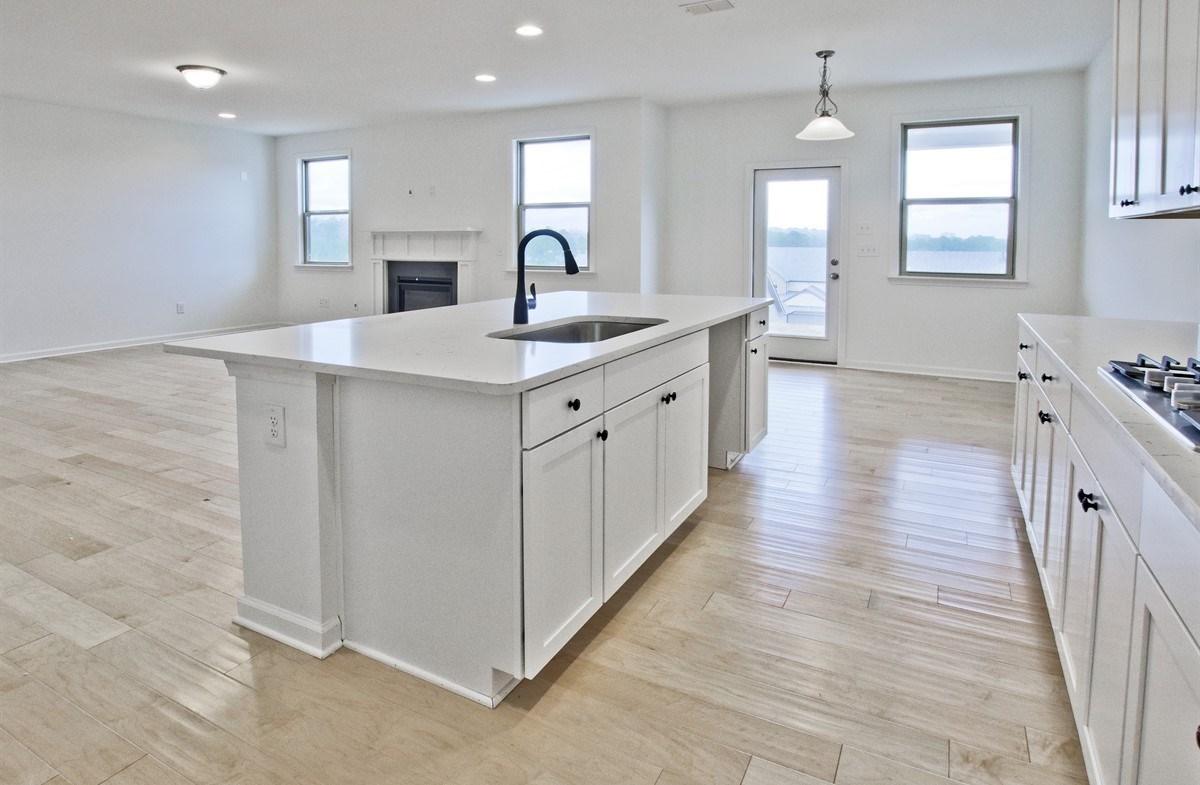 Laurel quick move-in Kitchen with quartz counters
