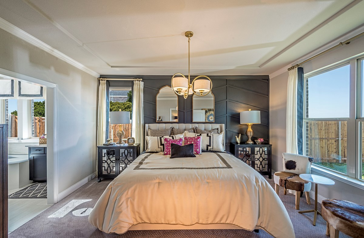 quaint Aberdeen master bedroom