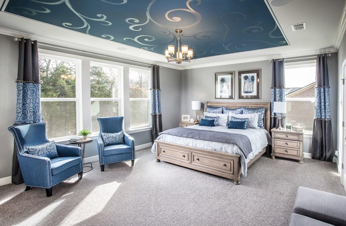 oversized master bedroom on first floor