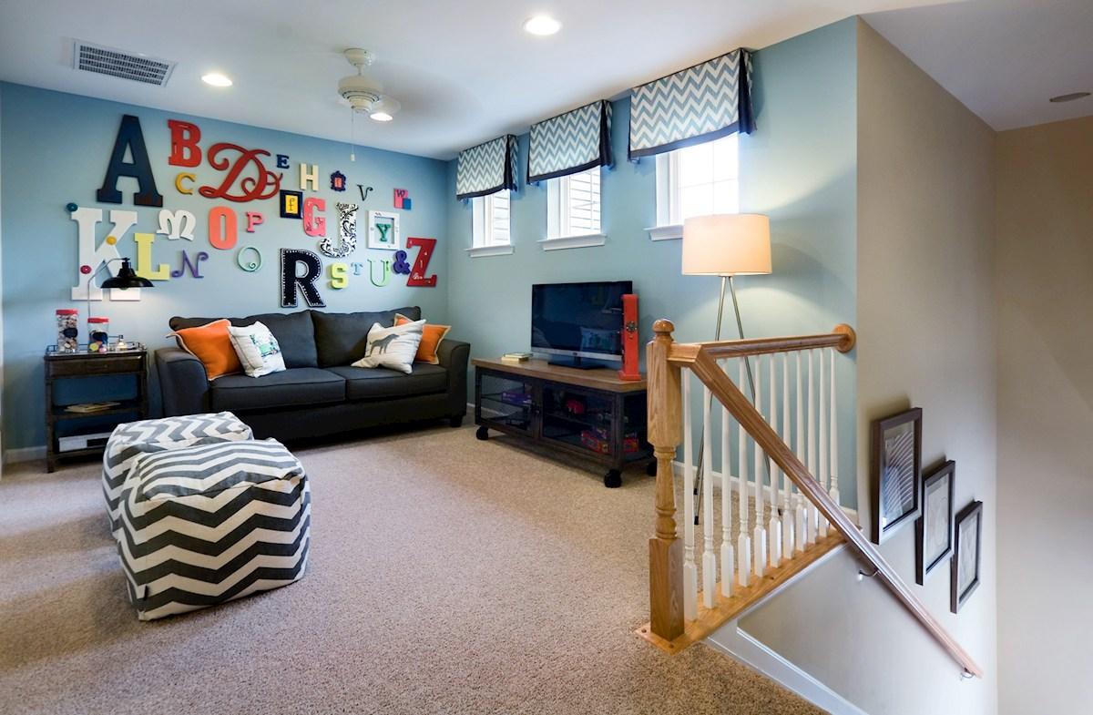 upstairs multipurpose loft