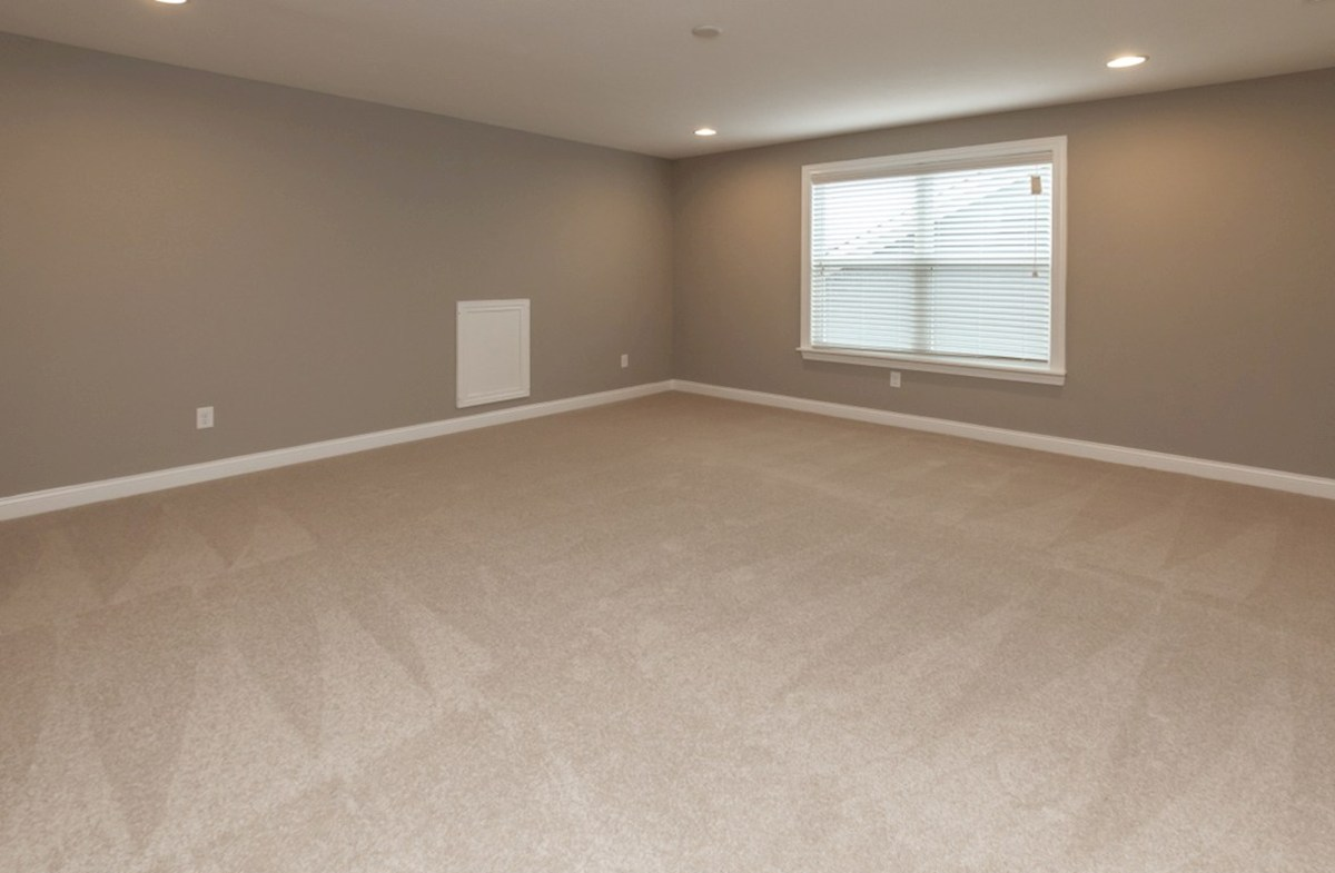 Windsor quick move-in large finished basement  with nuetral carpet