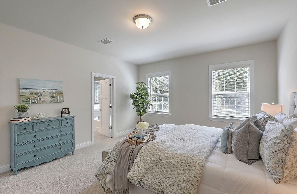 Bentley Park Madison bright master bedroom