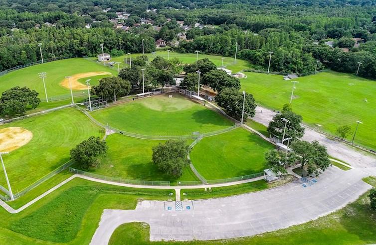 Local softball fields