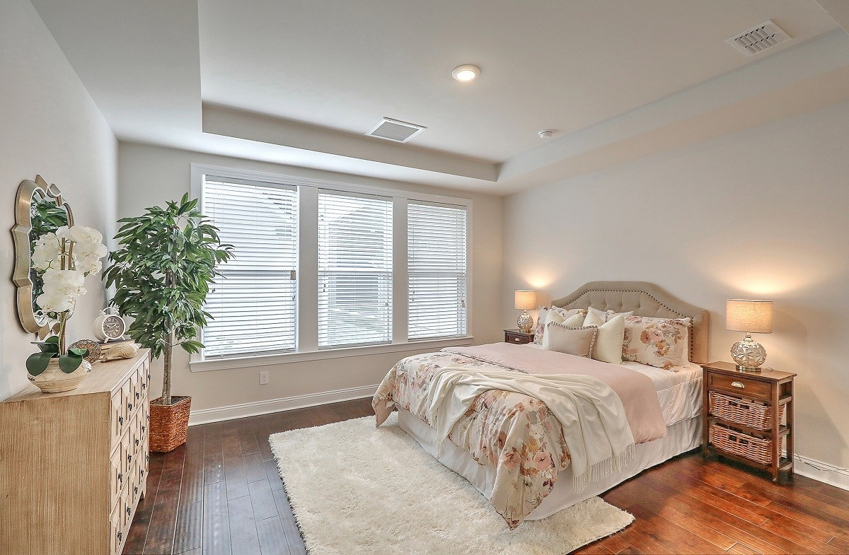 The Marshes at Cooper River Drayton inviting master bedroom