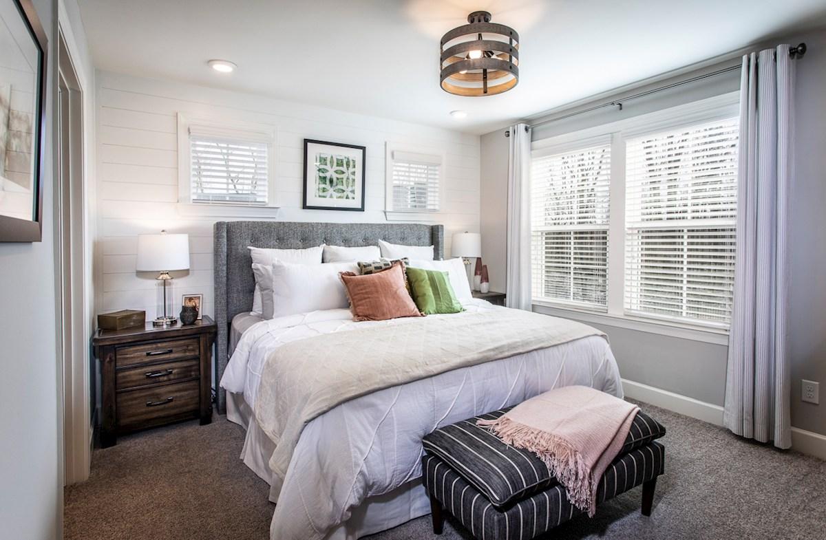light-filled primary bedroom
