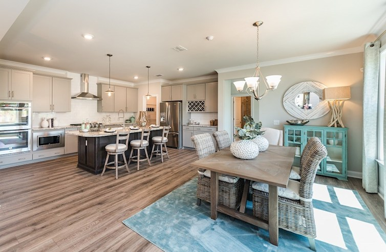 Palmetto Home Plan In The Marshes At Cooper River Charleston Sc Beazer Homes