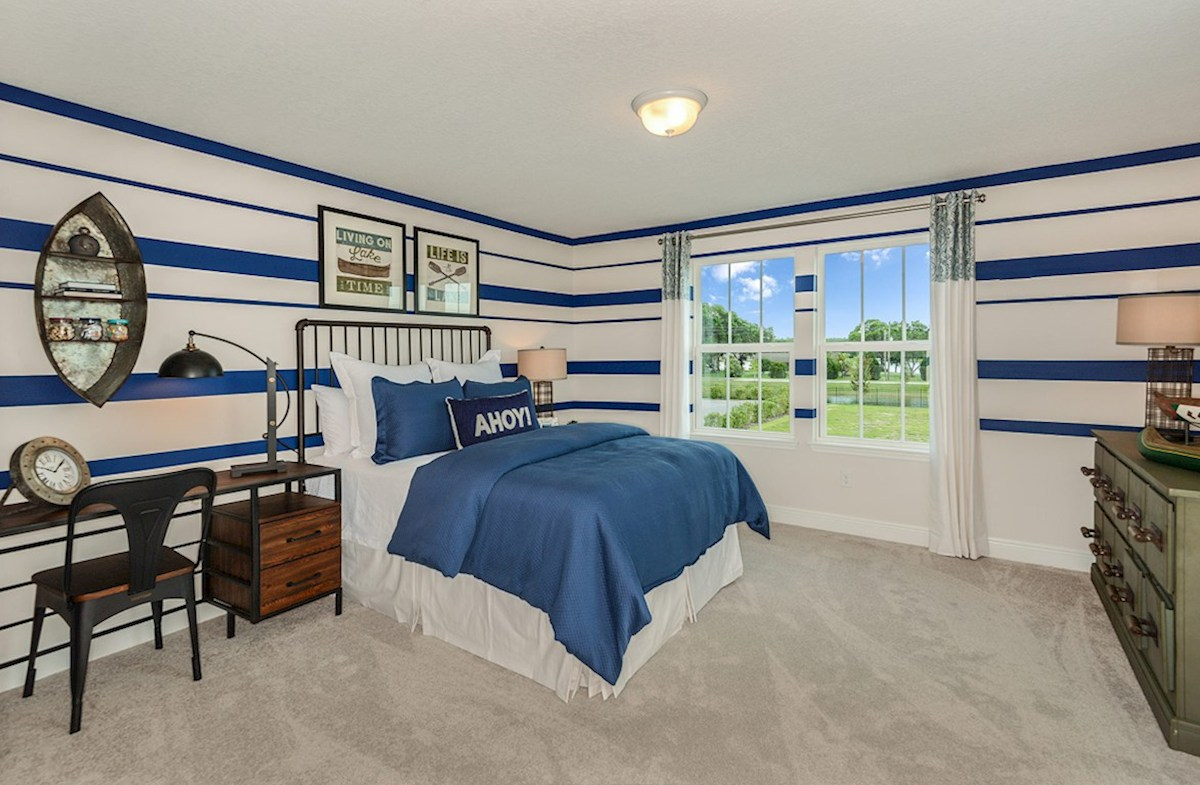 Reserve at Citrus Park Lucia Bay Nautical themed bedroom