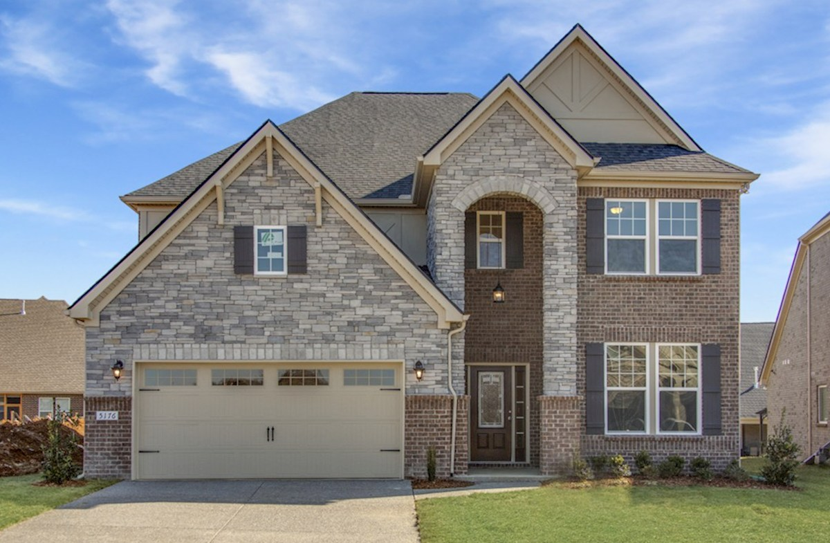 Dogwood Elevation English Revival L quick move-in