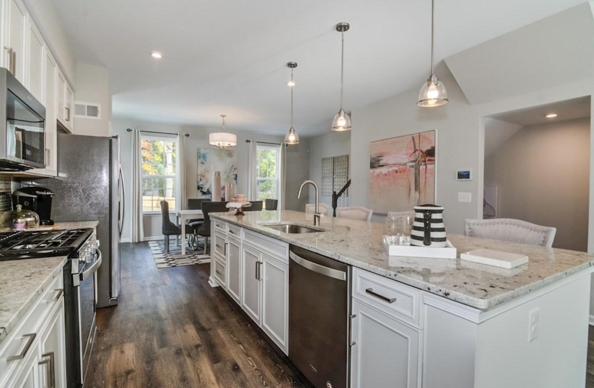 Enclave at Long Branch Belhaven expansive kitchen