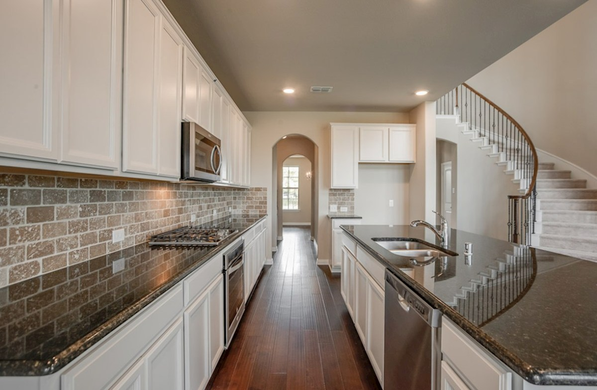 Madison quick move-in kitchen includes granite countertops