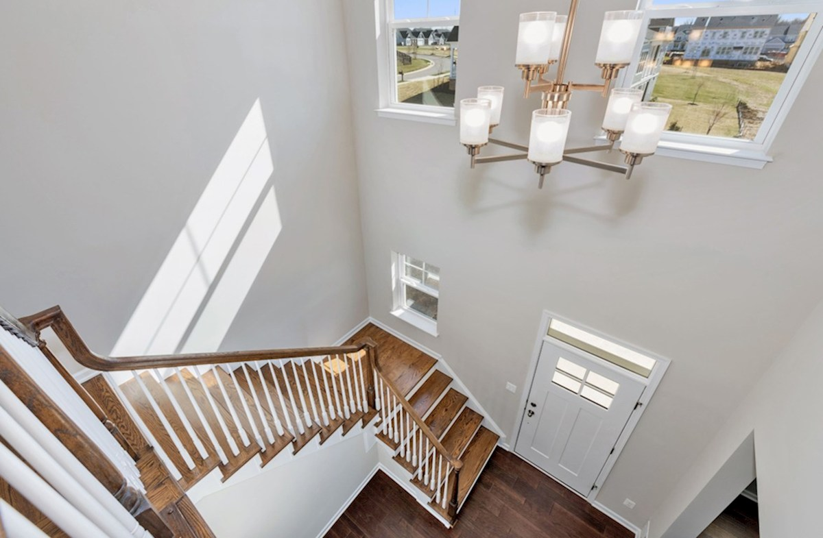 Willowsford Winslow two-story foyer