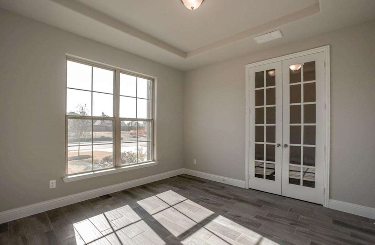 Silverado quick move-in Silverate private study with French doors