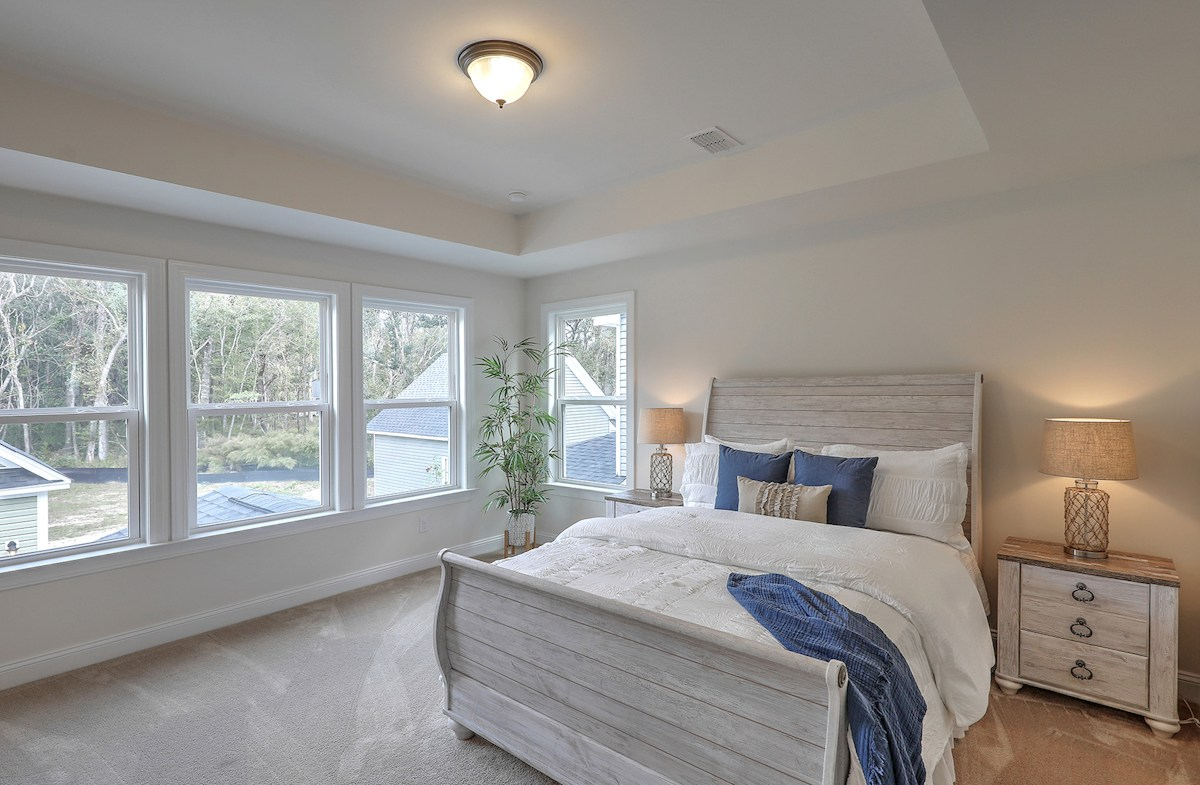 The Marshes at Cooper River Middleton private master bedroom