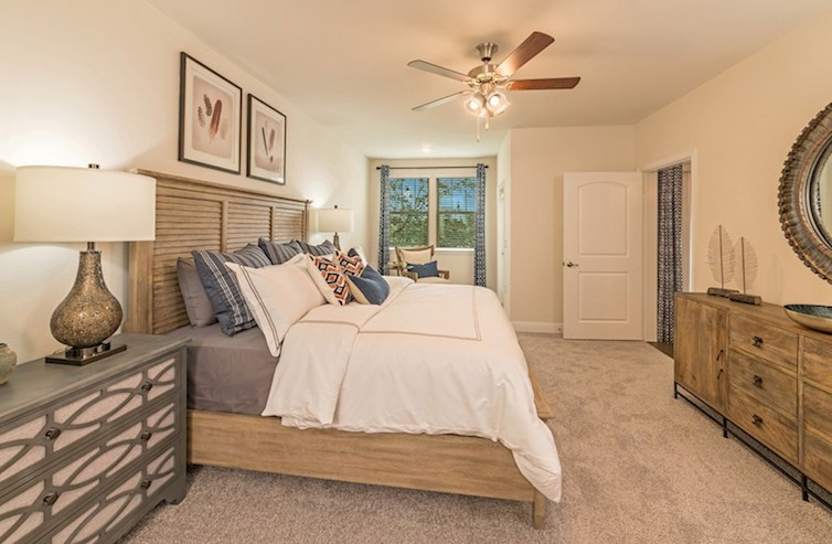 Gatherings® at Twin Creeks Clifton Clifton Master Bedroom