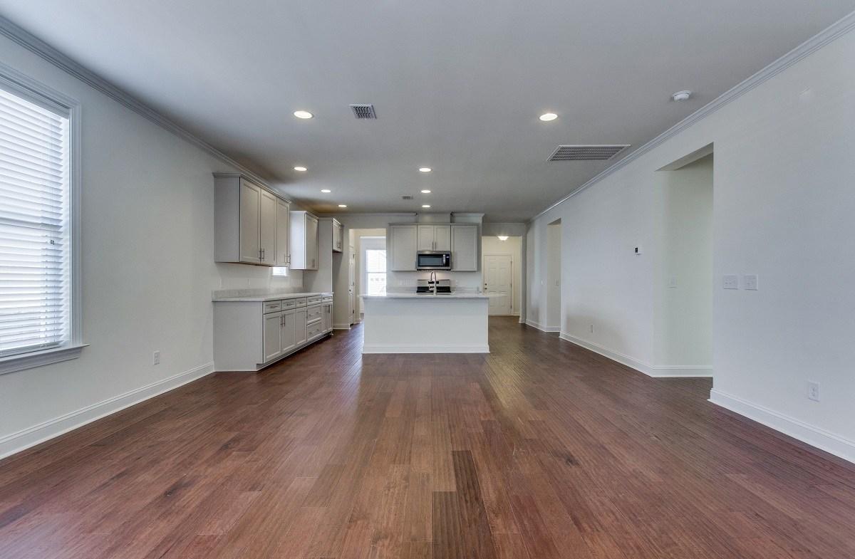 Maybank Village Hamilton open-concept floorplan
