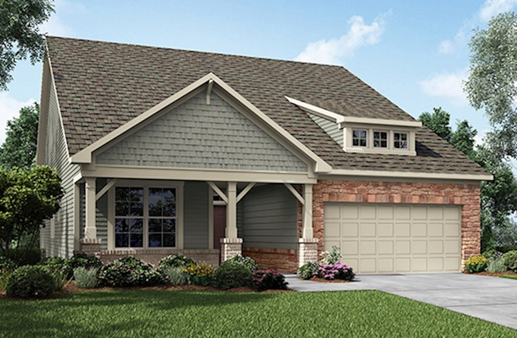 Cypress Elevation French Country A