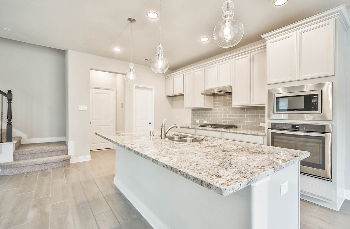 Juniper quick move-in spacious kitchen with modern selections