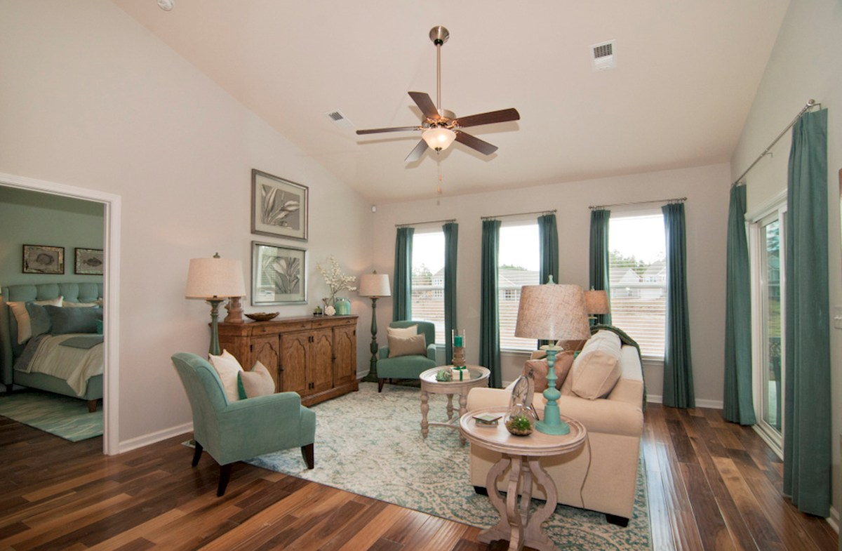 Bella Vita Camden hardwoods in spacious Camden living