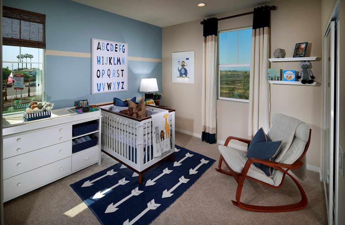 Bayside Landing Lark X secondary bedrooms are large but cozy