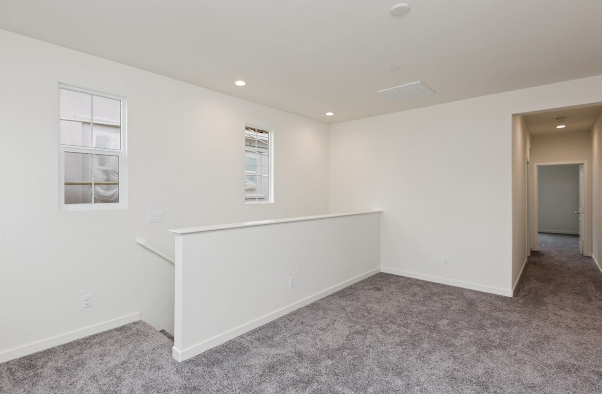 Snowberry quick move-in The loft provides additional space needed for family entertainment