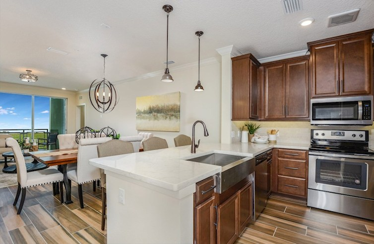 Gatherings® of Lake Nona Aspen chef-inspired kitchen