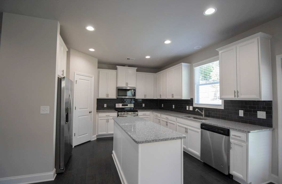 Milford Point Kensington Kitchen with granite countertops