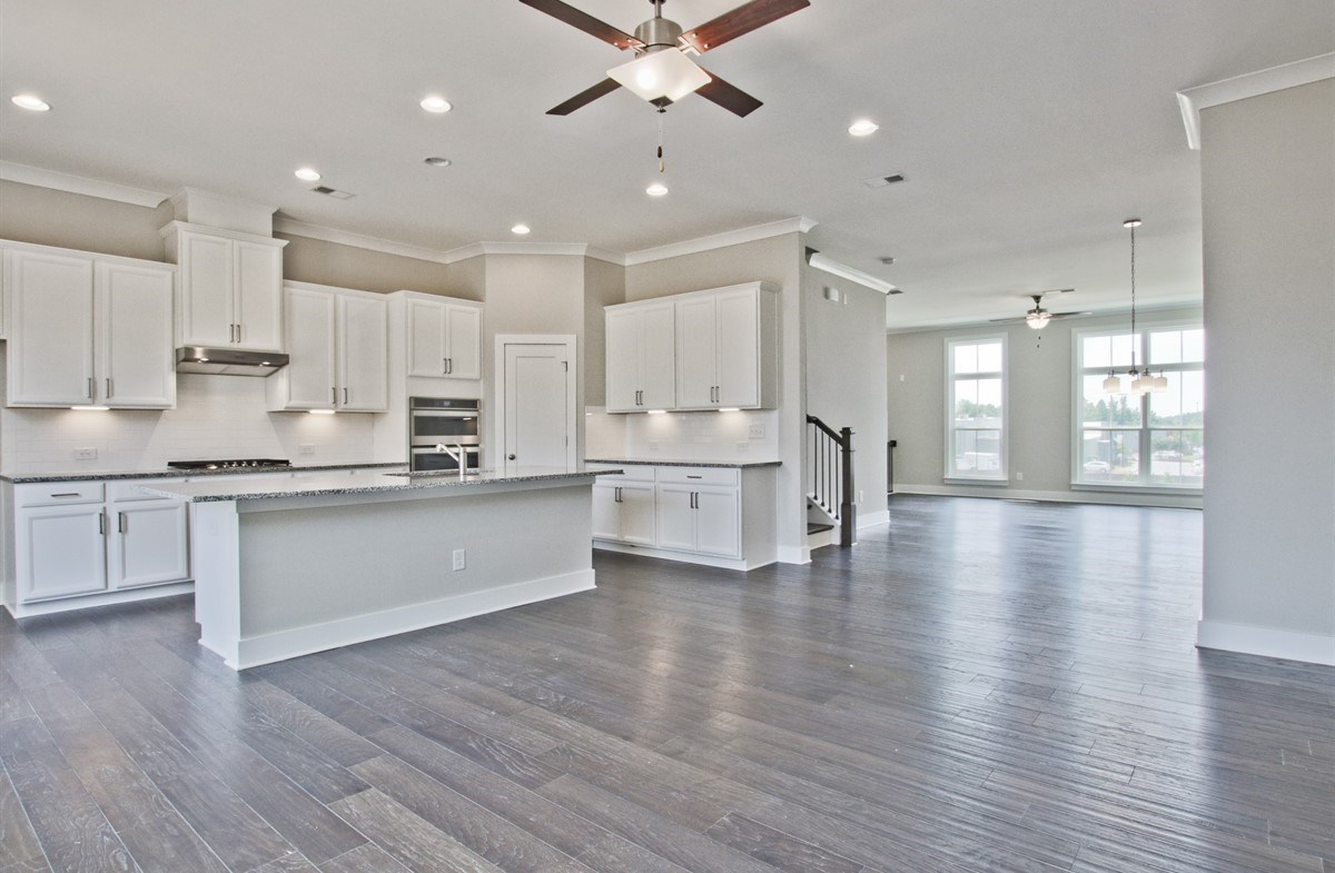 Callahan II quick move-in Open Concept Kitchen, Family and Dining Room
