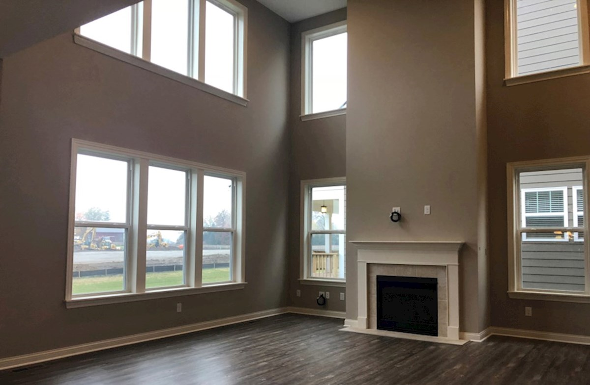 Oakhill quick move-in Floor to ceiling windows in great room