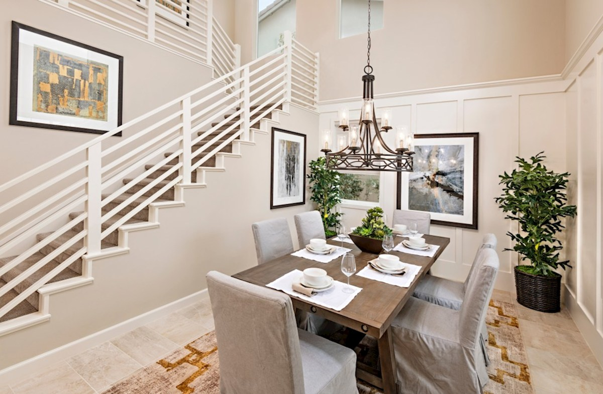 Aurora Heights Torrey Formal dining room for family meals