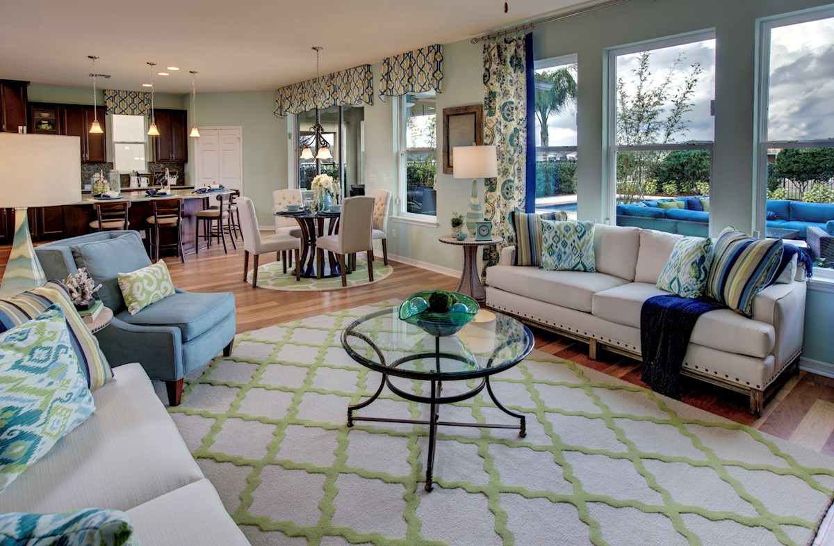 The Reserve at Pradera Anna Maria Furnished family room