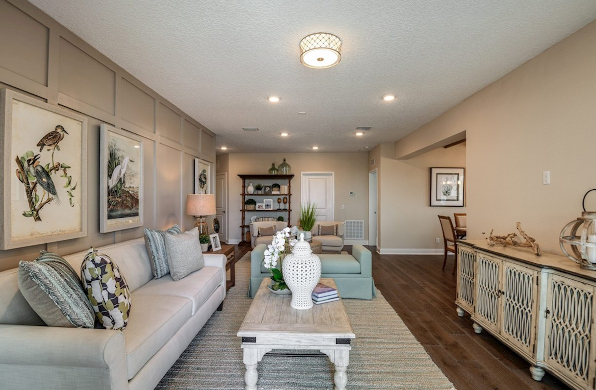 Gatherings® of Lake Nona Chestnut light-filled great room