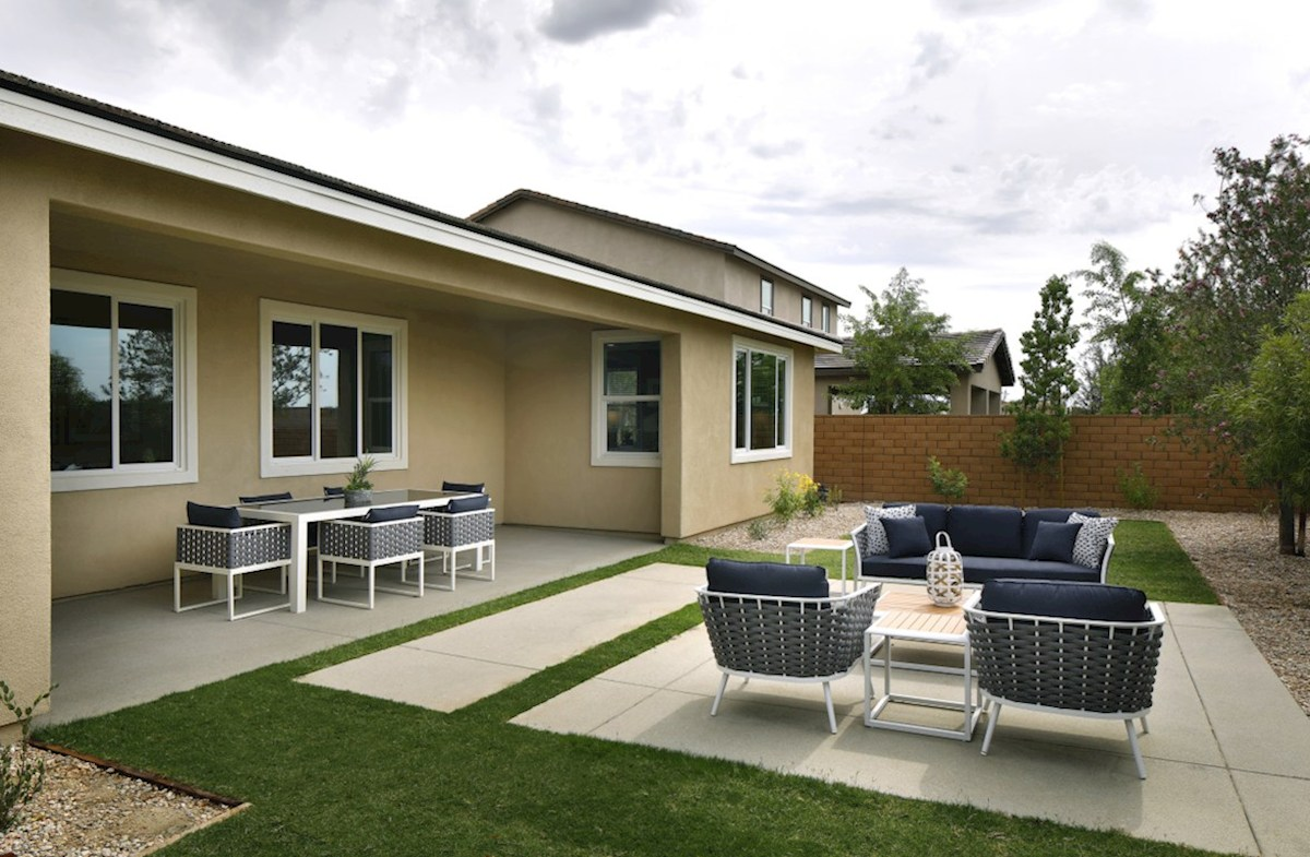 Barcelona Opal spacious lots with cozy covered patio