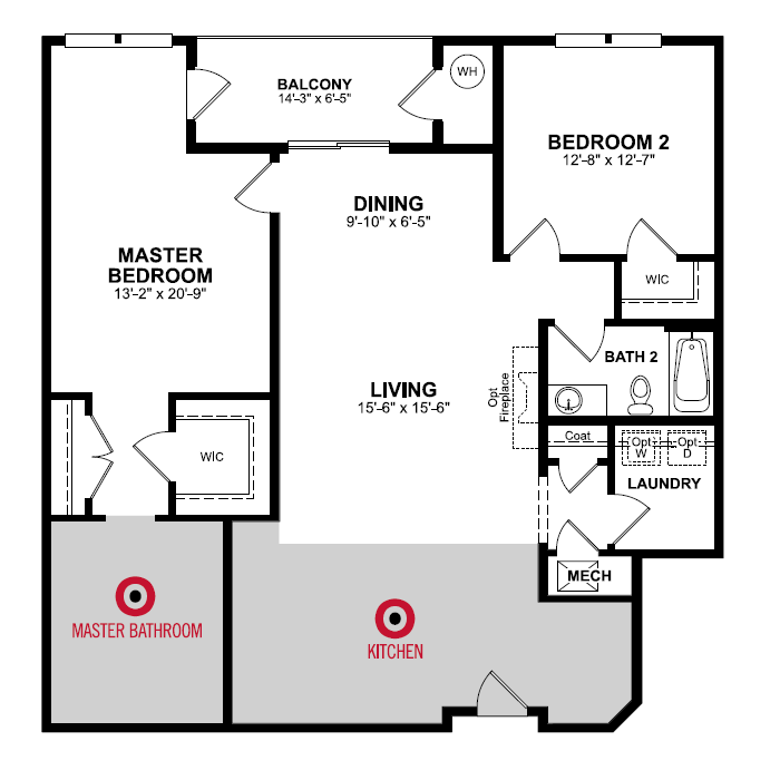Floorplan of Clifton