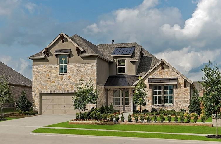 Kerrville stone exterior