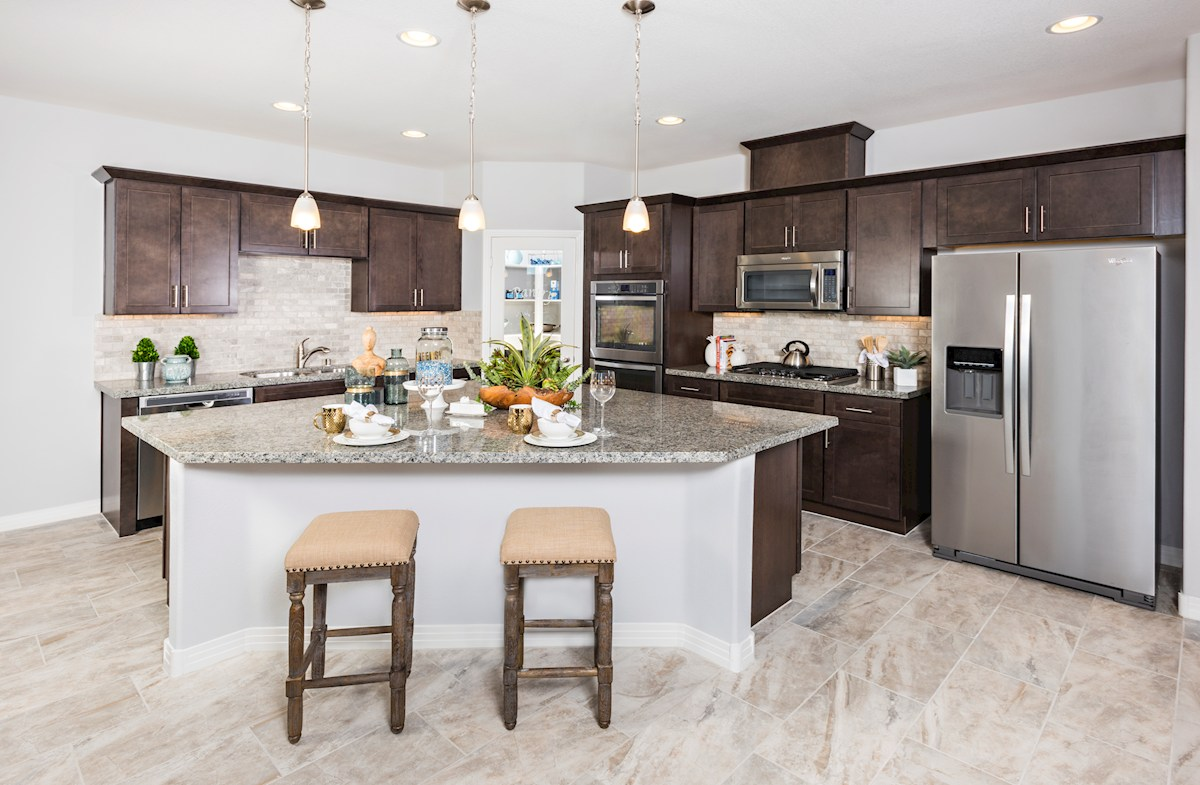Park Collection at Inspirada Biscayne Oversized Island with spacious counter tops