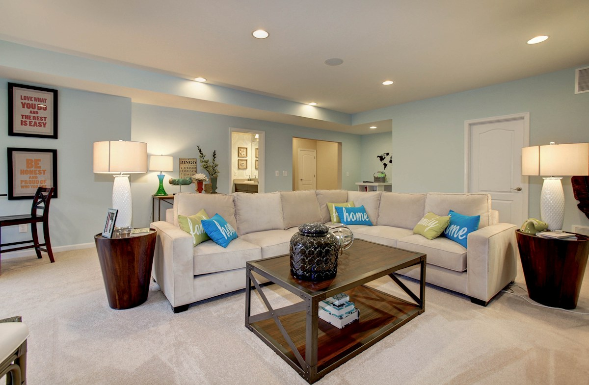 Summerfield Oxford finished recreation room