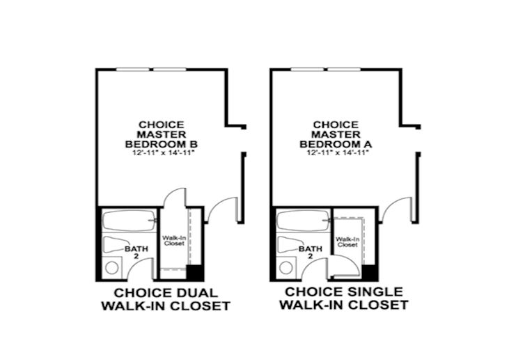 Choice options for 3rd Floor