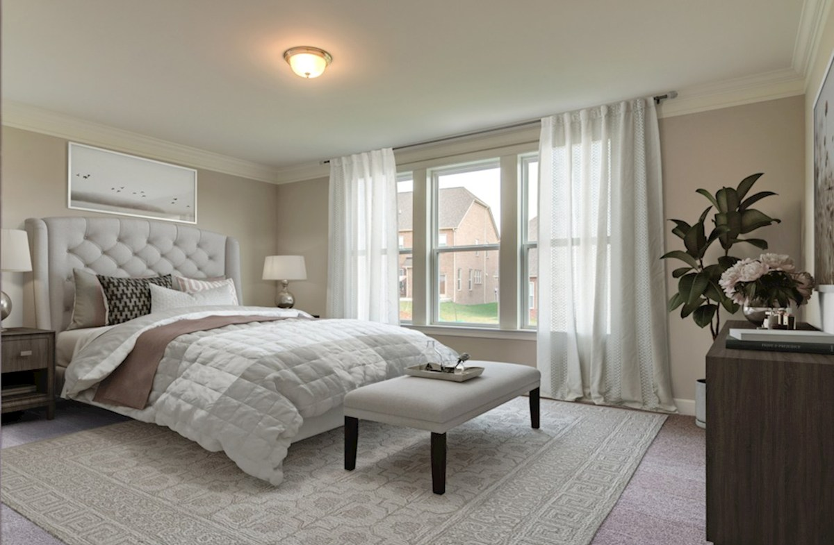 Dogwood quick move-in chic master bedroom