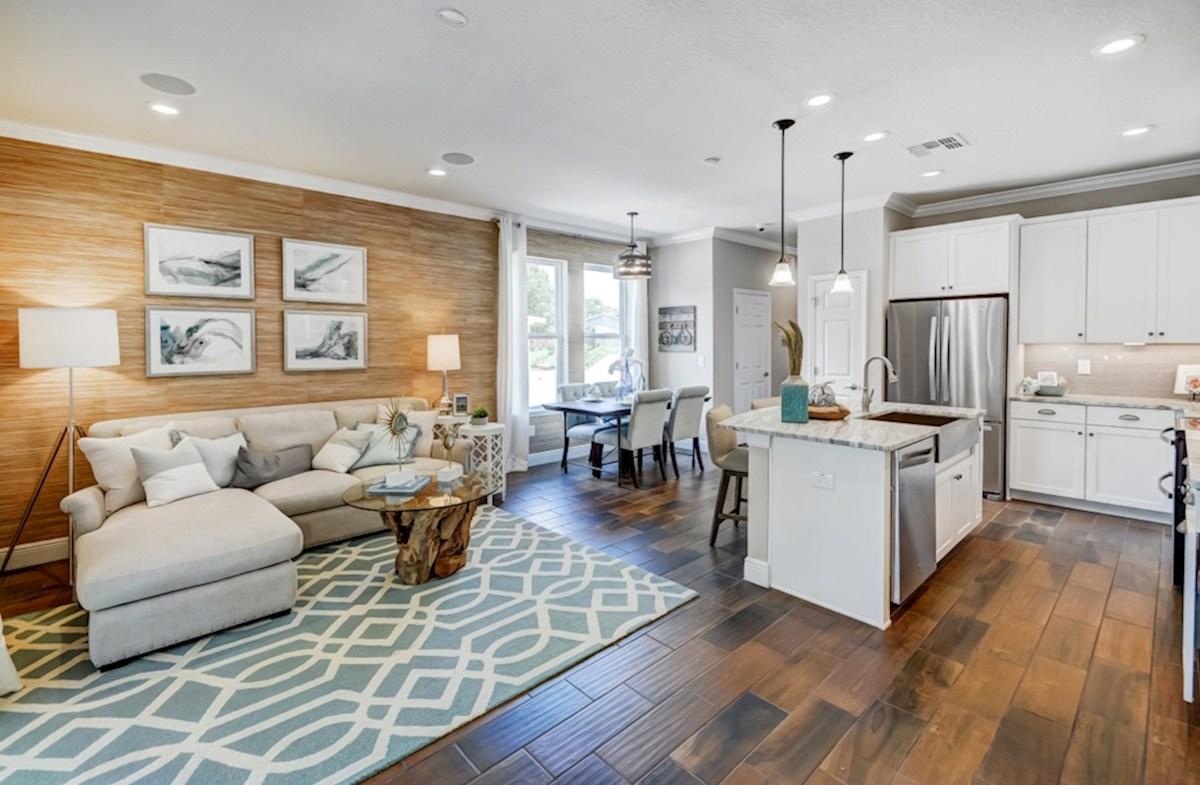 Harpeth Springs Village Vanderbilt open concept kitchen and great room