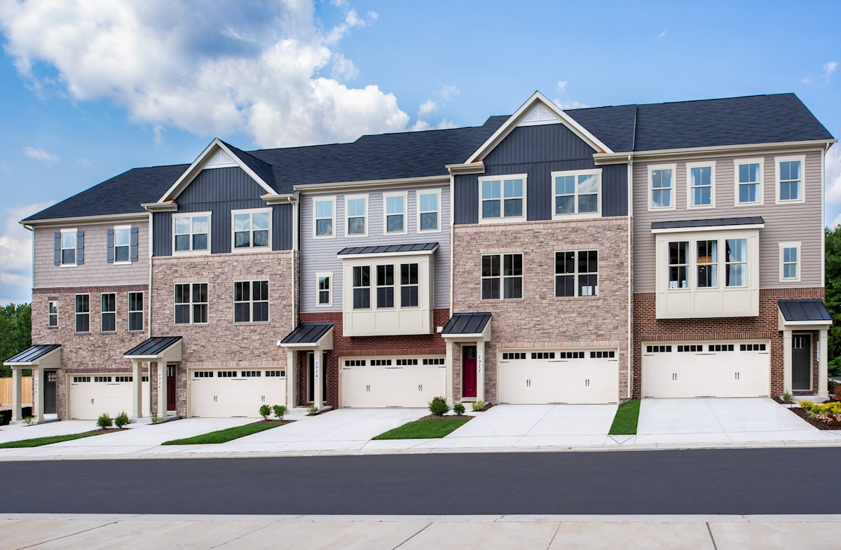 Annapolis exterior showing elevation options