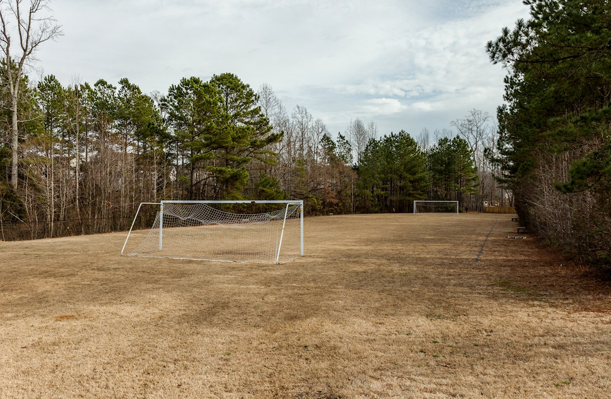 community soccer field